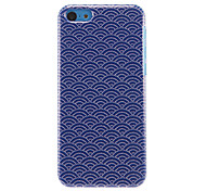 Fans with Beads Pattern Navy Hard Case for iPhone 5C