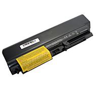 7800mah Laptop Akku für IBM ThinkPad R60 R60 R61 R61e R61i T60 T60p T61 T61p SL400 - Schwarz