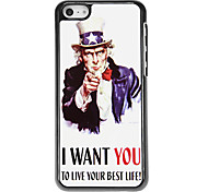Live Your Best Life Pattern Aluminous Hard Case for iPhone 5C