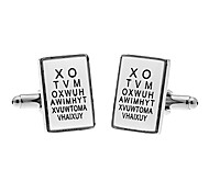 Men's Alphabet Cufflinks(2 PCS)