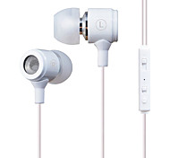X37M Super Bass Metal In-Ear Earphone with Mic and Remote for Mobilephone