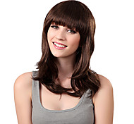 Female Short Roll Fluffy Synthetic Wig