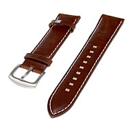 Men's Genuine Leather Watch Band (Brown) Cool Watch Unique Watch