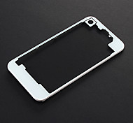 New Back Cover Housing Glass Plate Panel See Through Clear Black for Iphone4/4s