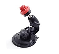 Red Universal Super Powerful Car Suction Cup Mount for GoPro Hero 3 / 2 / 1