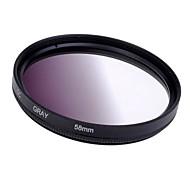 Schrittweise Grau 58mm Filter Objektiv