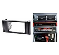 Kit para instalação de rádio Fascia Facia guarnição para BMW 5-Series E39 1995-2003 X5 E53 1999-2006
