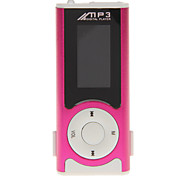 Co-crea Portable 1.1 Inch MP3 with LED Lamp and Clip (2GB)
