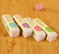 Eraser do Design Estudante clássico (cor aleatória, 4PCS)