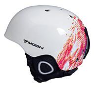 MOON® Helmet Unisex Snow Sport Helmet Ultra Light (UL) / Sports Sports Helmet White / Red Snow Helmet EPS / PVCSnowboarding / Snow Sports