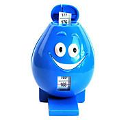 Синий улыбающееся лицо Pattern Лента для новорожденных измерения высоты