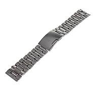 Hombre de 22 mm de acero lleno venda de reloj