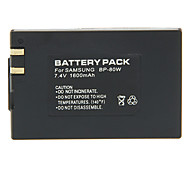BP-80W 1600mAh Camera Battery for SAMSUNG