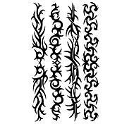 5 Stück Totem Wasserdicht Tattoo (10,5 cm * 20,5 cm) HM315