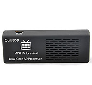 Ourspop MK808B Dual Core Android 4.1 do Google TV Player Bluetooth 1GB RAM 8GB ROM TF HDMI