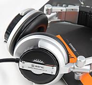 SENICC ST-80 Over-Ear Casque micro vaut le détour, adaptateur à distance et 6,3 mm pour PC / iPhone / Samsung / HTC