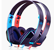 M2 Foldable Over-Ear Headphones with Mic(Assorted Colors)