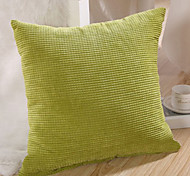 Retro Plaid Solid Embossed Decorative Pillow With Insert