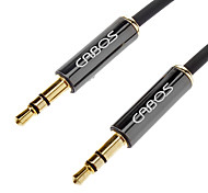 CABOS AUX 3.5mm Male to Male AV Cable Black(3M)