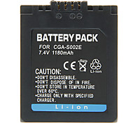 1180mAh Camera Battery for Panasonic CGA-S002E