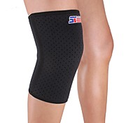 Knee Brace Sports Support Protective Compression Stretchy Fitness Black