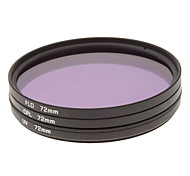 CPL + UV + Filtro FLD Ajuste para la cámara con filtro de bolsa (72 mm)