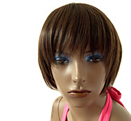 Synthetic Stylish Full Bang Short Straight Wig