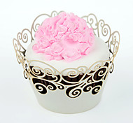 12 Ecológico Cupcake / Bolo Outro Embalagens para Cupcake/Muffin