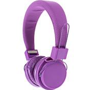 EX09I 3,5 mm stéréo haute qualité de casque de Sur-oreille pour PC/MP3/MP4/Telephone (Violet)
