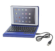 360 Degree Rotatable PU Full Body Case with Stand and Detachable Bluetooth3.0 Keyboard for iPad mini/ mini 2