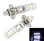 Merdia H1 28 x SMD 3528 LED-Weißlicht für Auto-Bremslicht / Nebelscheinwerfer (2 PCS/12V)