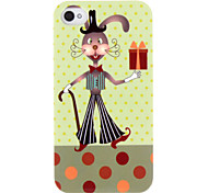 Lovely Cartoon Rabbit Pattern ABS Back Case for iPhone 4/4S