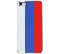Top 32 World Cup Series Flag of Russia Pattern Hard Case for iPhone 5/5S