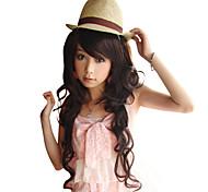 Fashion High Quality Side Bang Long Wavy Wig