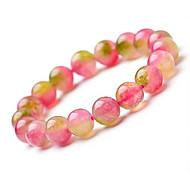 Salute Caring dolce variopinto Naturel cristallo ologramma Bracelet (1 Pc)