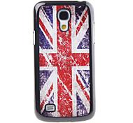 El modelo de Union Jack Decal cubierta del estuche rígido de plástico para el Samsung Galaxy S4 Mini I9190