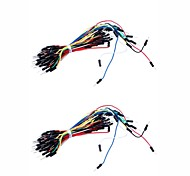 Brand new Electronic DIY 65pcs Breadboard Jumper Cable Wires (2PCS)
