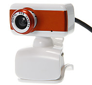 Rectangle Shaped Desktop 8 Megapixel Webcam with Mic