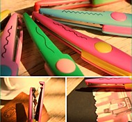 Business Lace Plastic & Metal Scissors & Utility Knives(Random Colors,1pc)
