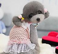 Süße Tier Fluorescent Blase Rock für Haustiere Hunde (verschiedene Farben, Größen)