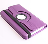 Rotatable Leather Case with Stand for Samsung T210