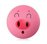 DIY Cartoon-Schwein Tapeten und Wand Dekoration Design Lampenschirm Warm Pink Light LED-Nachtlicht