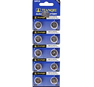 TianQiu HW01 AG13 1.55V Alkaline Cell Button Battery