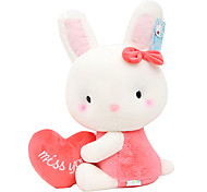 33cm Pink Rabbit Shaped Plush Doll