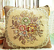 Patrón Euro Flor Almohada decorativa Con Insert-2 colores disponibles
