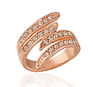 Diamond Ring Rose Gold Ring