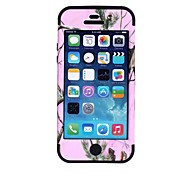 Pine Tree Pattern Protective Silicone Case for iPhone 5 (Assorted Colors)