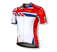 SPAKCT 100%Polyester Short Sleeve Breathable/Quick-Drying Men Cycling Jersey  S14C05