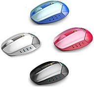 1800 DPI LED blu Wireless scienza Optical Mouse