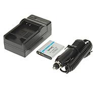 ismartdigi 950mAh Camera Battery+Car Charger for OLYMPUS SZ12 SZ31 SZ11 SZ30 XZ-1 PENTAX D-Li92